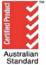 Australian Standard certified product